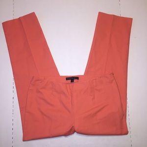 Lafayette 148 New York Dress Crop Pants Flat Front